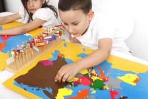 Montessori Junior class